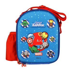 Kids Marvel Superheroes Hardtop Lunch Bag Blue