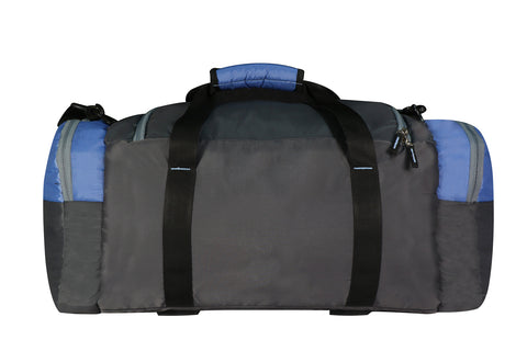 Mike Weekender Duffel Bag Blue & Grey