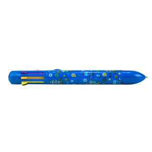 Smily Rainbow Pen Blue