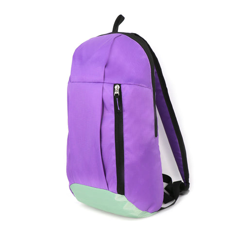 Casual Unisex Backpack Purple