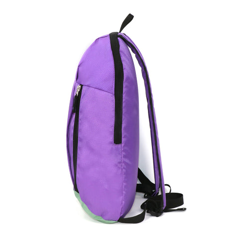 Image of Casual Unisex Backpack Purple