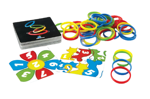 Image of Board Games Combo ( Dr Microbe, Rings Up, Fast Flip )