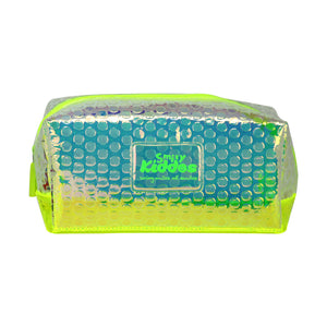 Smily Bubble Utility Pouch Green