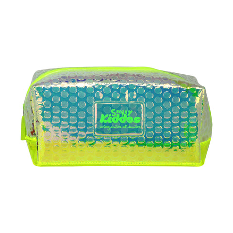 Image of Smily Bubble Utility Pouch Green