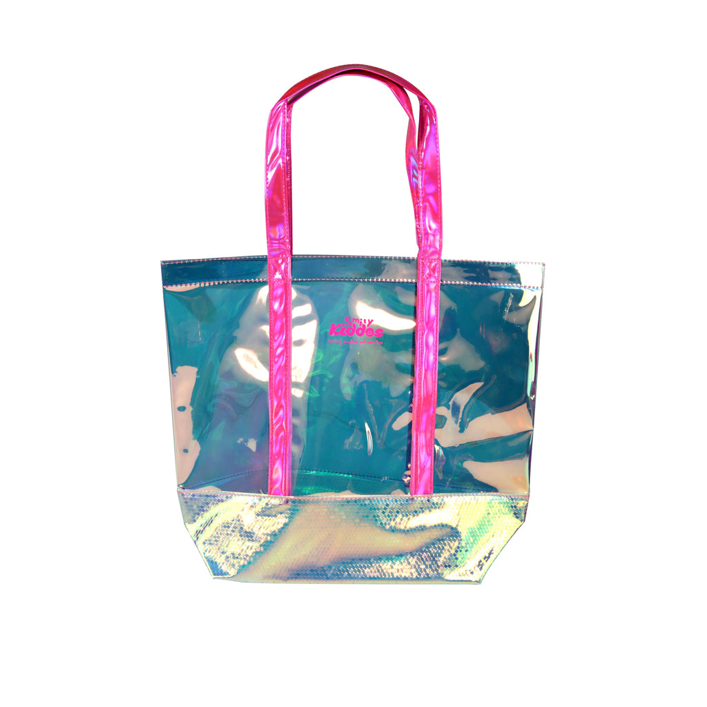 Smily Cute Translucent Hand Bag