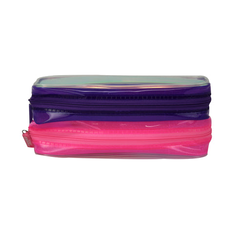 Image of Smily Gleamy Pencil Pouch Pink