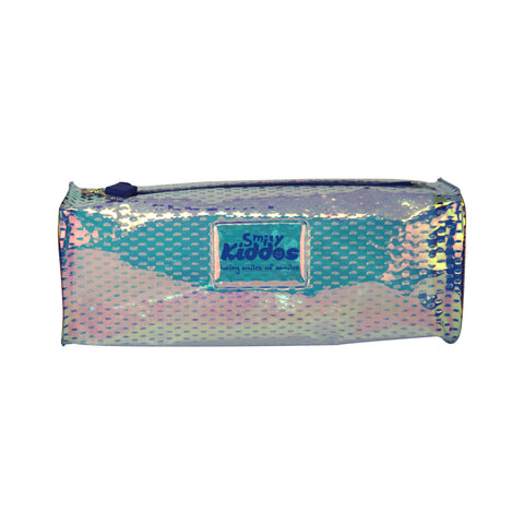 Image of Smily Square Gleamy Pencil Pouch