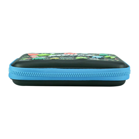 Image of Smily Single Compartment Pencil Case (Black)