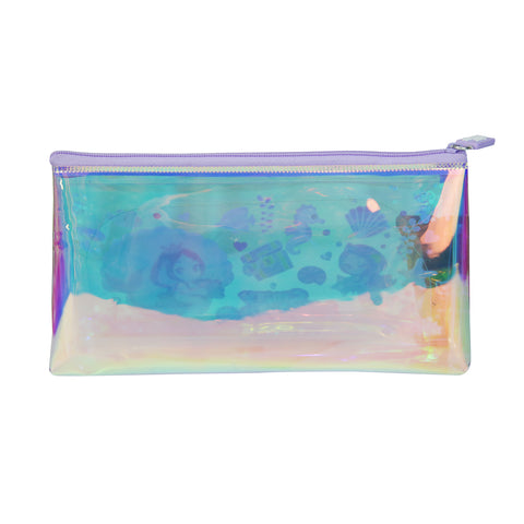 Image of Smily Mermaid Pencil Pouch with Drift Glitter