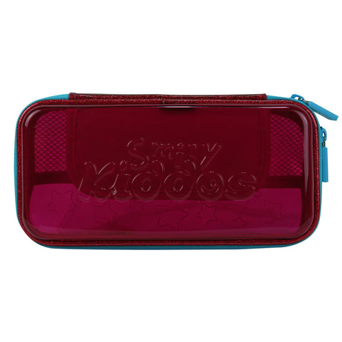 Image of Smily PVC Small Pencil Case (Pink)