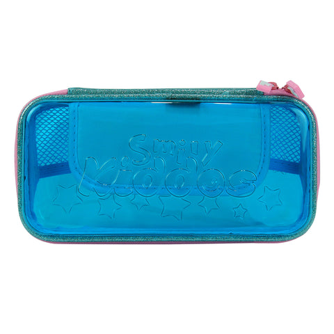 Image of Smily Small Pencil Case (Light Blue)