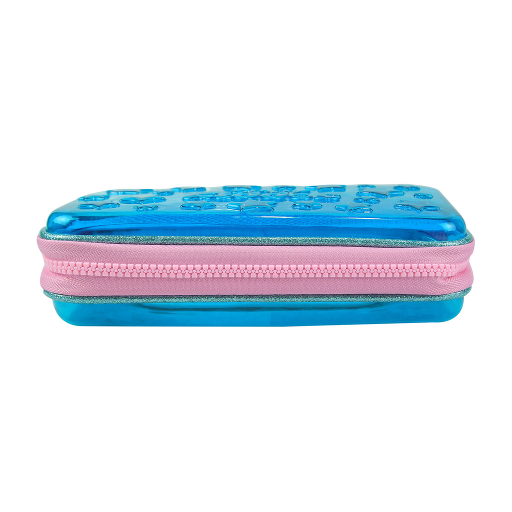 Smily Small Pencil Case (Light Blue)