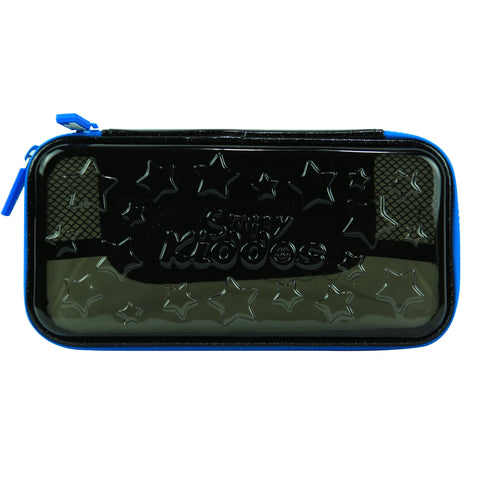 Image of Smily PVC Small Pencil Case Black