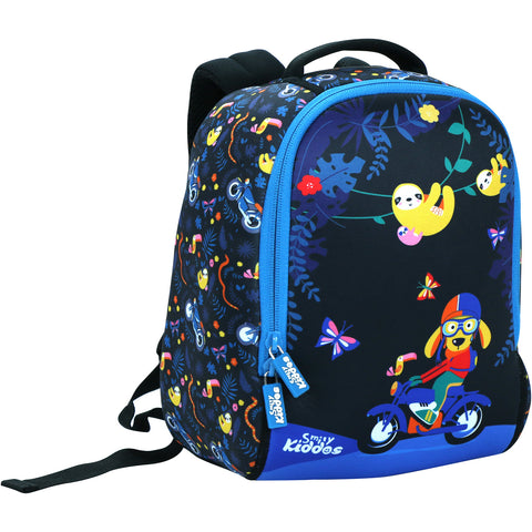 Image of Smily Preschool Backpack (Black)
