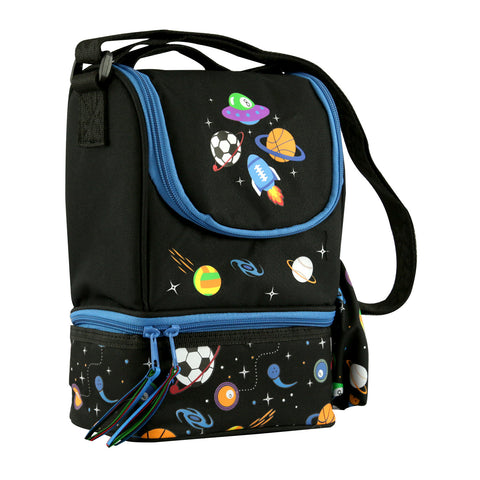 Smily Strap Lunch Bag (Black)
