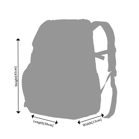 Image of Smily U Shape Backpack Pink