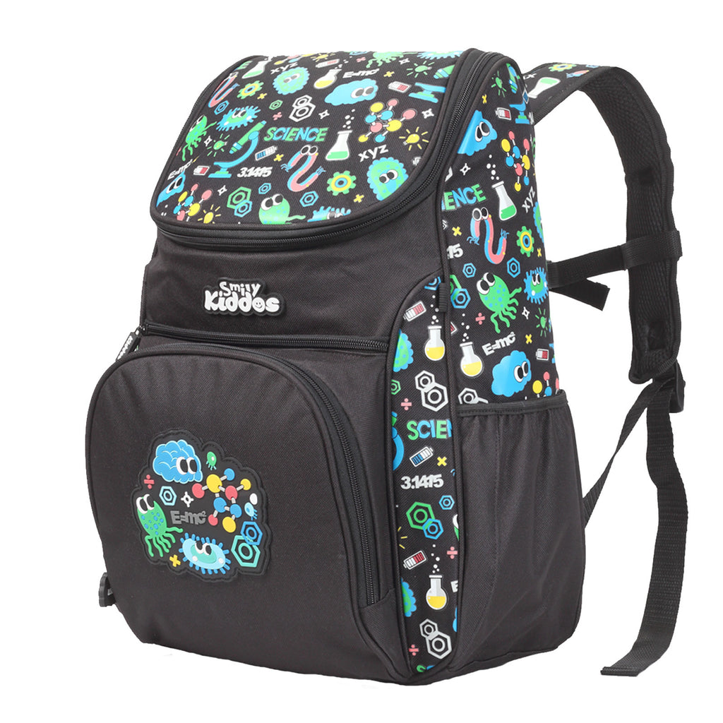 Smily U Shape Backpack Black