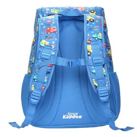 Smily U Shape Backpack Blue
