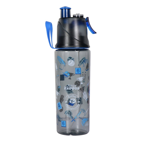 Image of Smily Kiddos Sports Water Bottle Cricket Theme