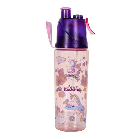 Image of Smily Kiddos Sports Water Bottle Unicorn Theme