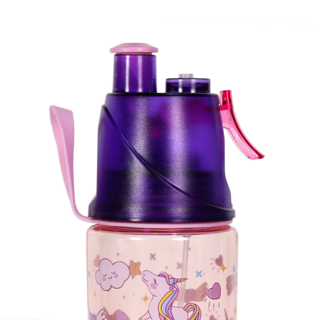 Smily Kiddos Sports Water Bottle Unicorn Theme