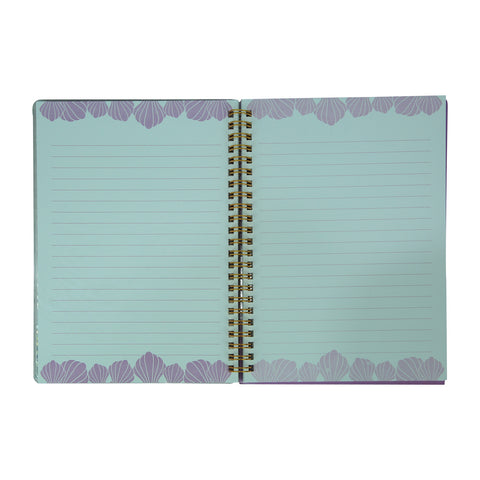 Image of Twinkle Metallic Spiral Notebook Purple