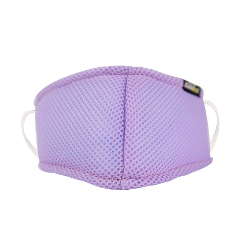 SMILY KIDDOS VALVE FACE MASK PURPLE ANTI-POLLUTION ANTI-DUST ANTI-BACTERIAL MASK - PACK OF 5