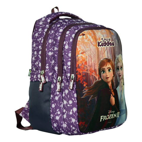 Image of Licensed Frozen 2 Elsa & Anna Junior Backpack Purple