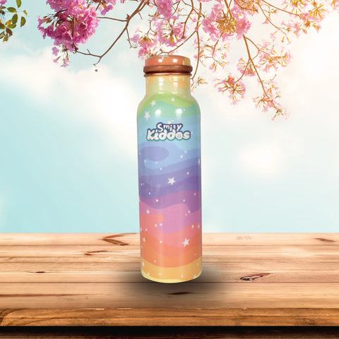 Star Rainbow Copper Water Bottle