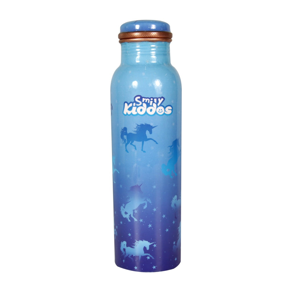 Sparkle Unicorn Copper Water Bottle