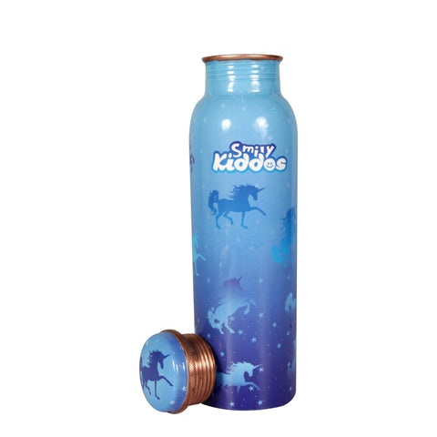 Image of Sparkle Unicorn Copper Water Bottle