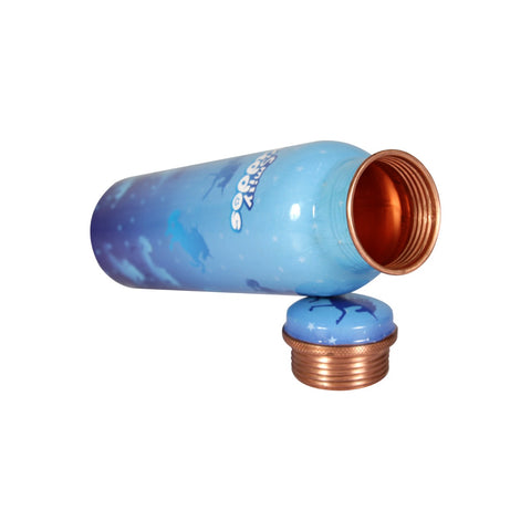 Image of Star Rainbow Copper Water Bottle