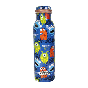 Smily Kiddos Funny Monster Copper Water Bottle