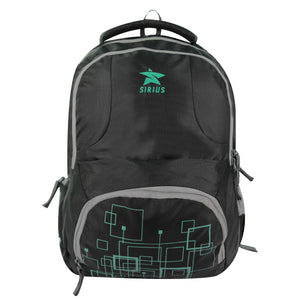 SIRIUS Laptop LTP  02 Backpack Green & Black