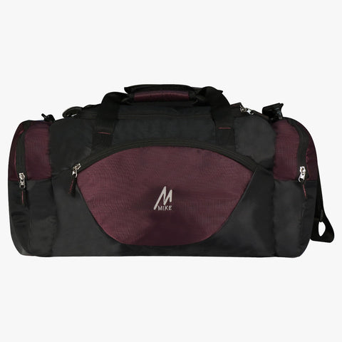 Mike Weekender Duffel Bag Purple & Black