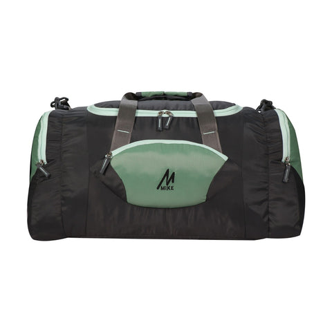 Image of Mike Weekender Duffel Bag Green and Black