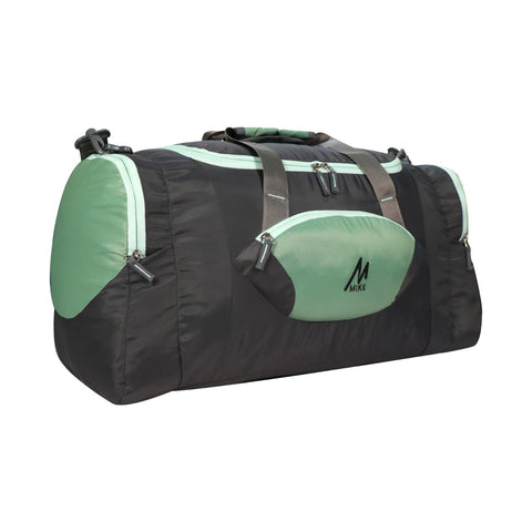 Mike Weekender Duffel Bag Green and Black