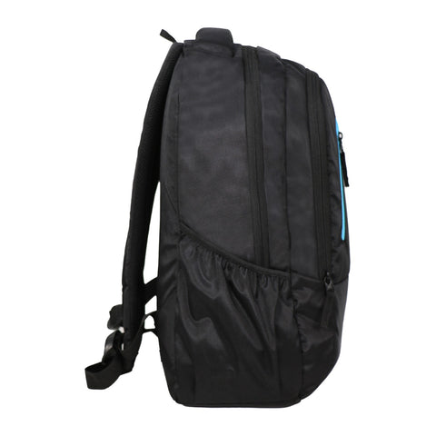 Mike Unisex Laptop Backpack - Black