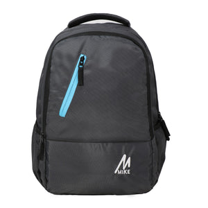 Mike Unisex Laptop Backpack - Grey