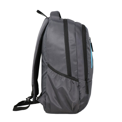 Image of Mike Unisex Laptop Backpack - Grey