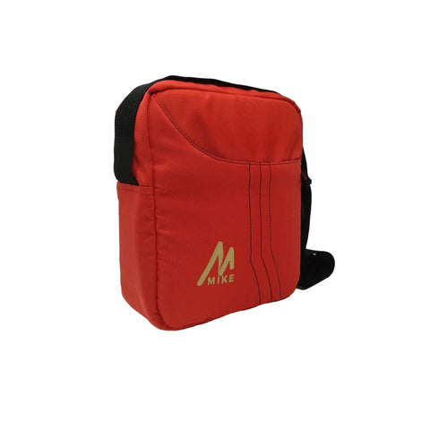 Image of Mike Solid Messenger Bag -  Red