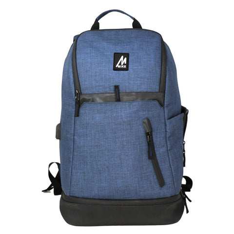 Image of Mike Zeus Laptop Backpack - Blue