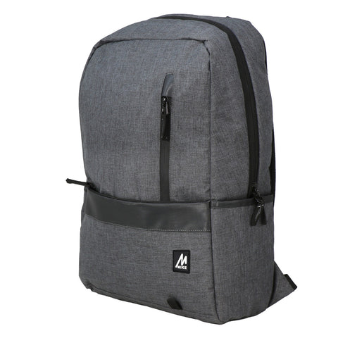 Mike Zeus Laptop Backpack - Grey