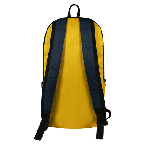 Casual Unisex Backpack Yellow