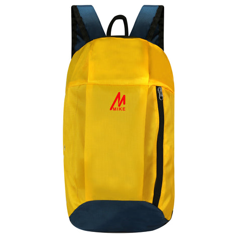 Image of Casual Unisex Backpack Yellow