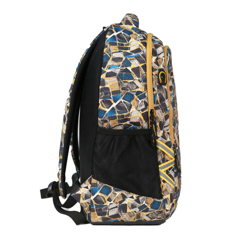 Mike Legion Laptop Backpack - Yellow
