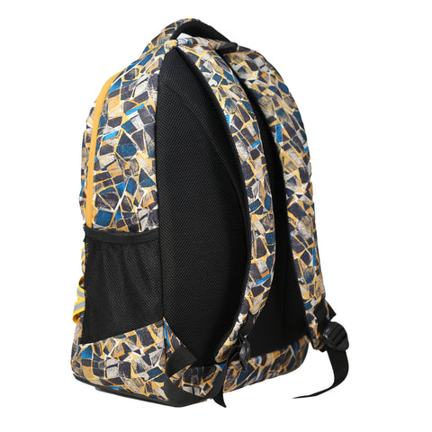 Image of Mike Legion Laptop Backpack - Yellow