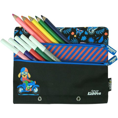 Fancy A5 Pencil Case (Black)