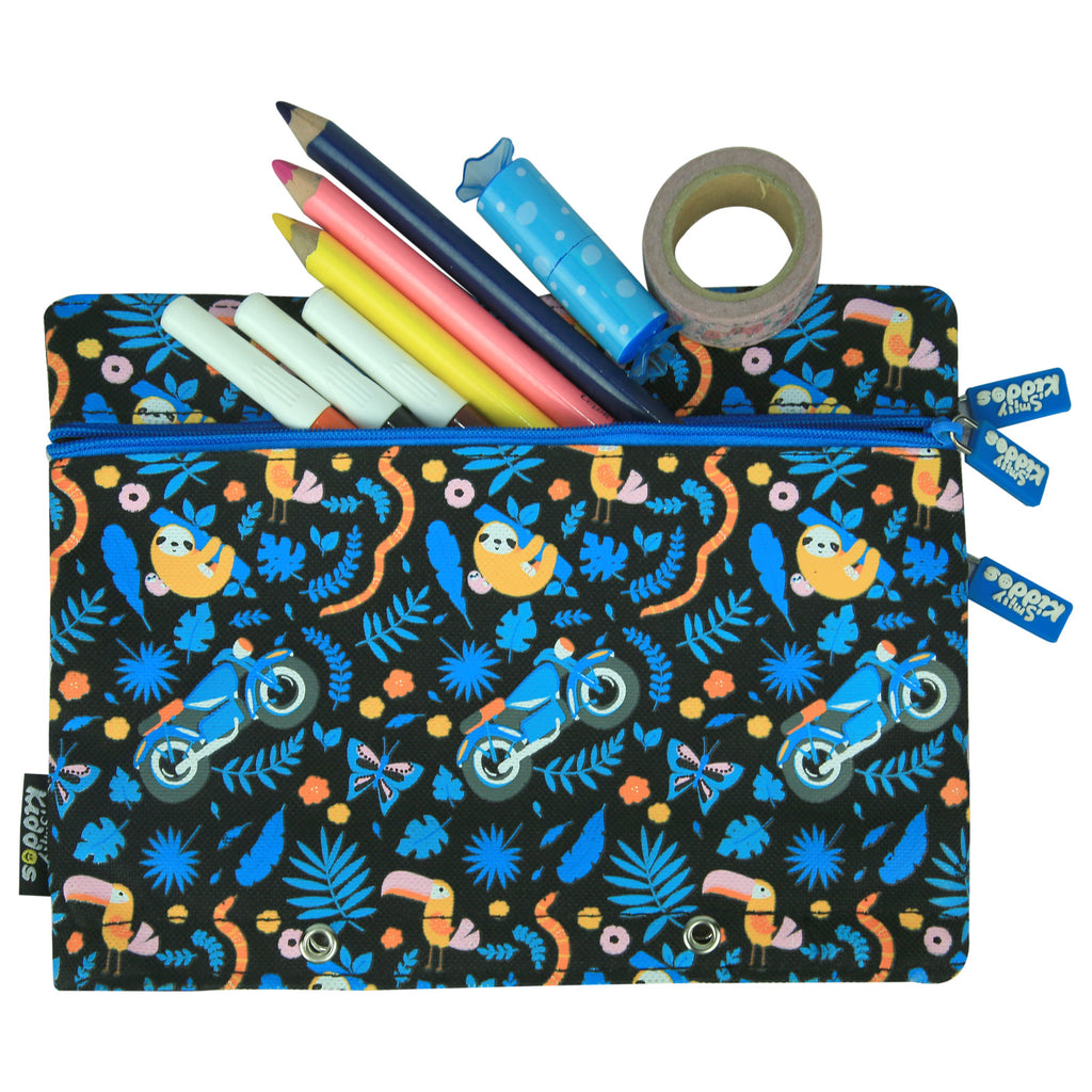Fancy A5 Pencil Case Black
