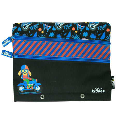 Image of Fancy A5 Pencil Case Black